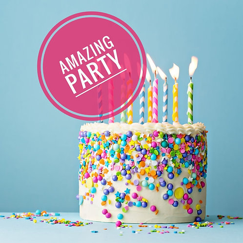 Amazing birthday party £18 per person