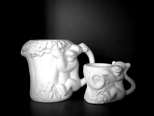 Tigger tree mug and egg cup set