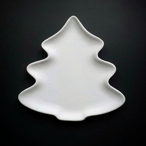 Christmas tree plate, small