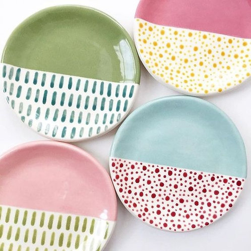 25cm plate - set of four