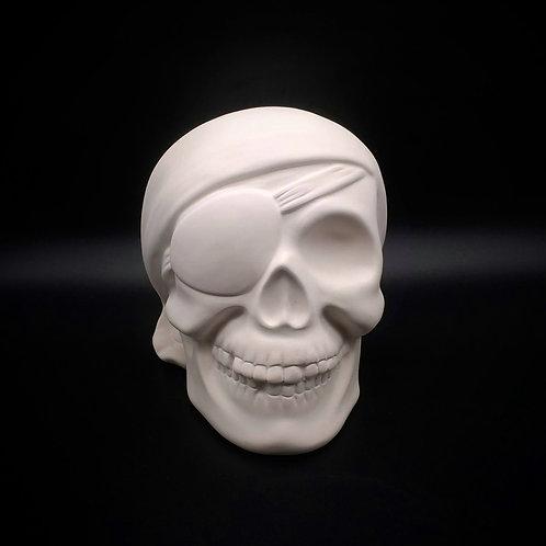 Big pirate skull - money box
