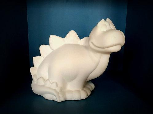 Big cute stegosaurus dinosaur - money box