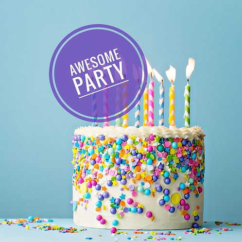 Awesome birthday party £20 per person