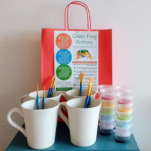Tall mug - set of four