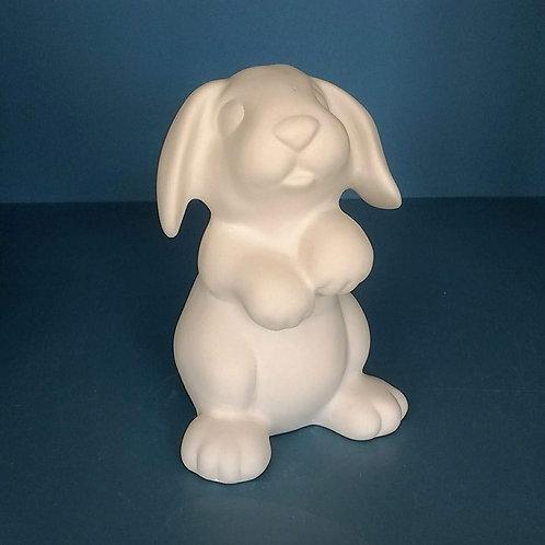 Cute bunny - foam clay
