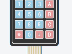 Interfacing Keypad with Arduino using TinkerCAD