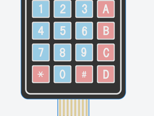 Interfacing Keypad with Arduino using TinkerCAD