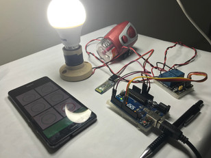 Controlling Home Appliances using Arduino and HC-05 Bluetooth module