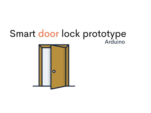 Smart Door Lock System - Prototype