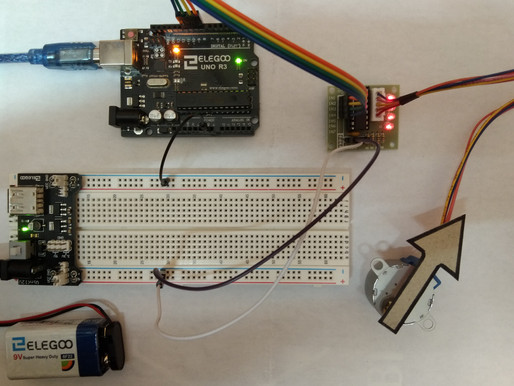 Interfacing Stepper Motor with Arduino