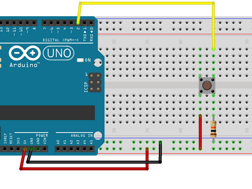 How to read a Digital Value from Arduino using Push Button?
