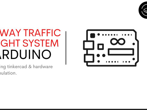 2-Way Traffic Light System using Arduino