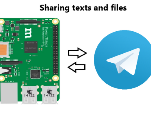 Using Telegram Bot with Raspberry Pi - Sharing Text and Files