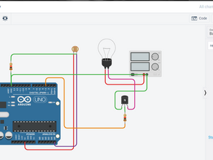 Smart Street Light Project using Arduino UNO, LDR and LED