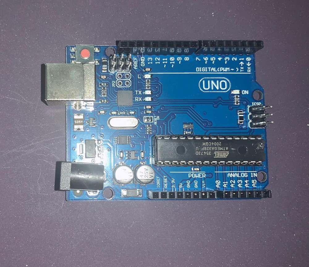 Image of an ARDUINO UNO Board