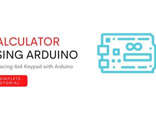 Making a calculator using Arduino and 4*4 Keypad