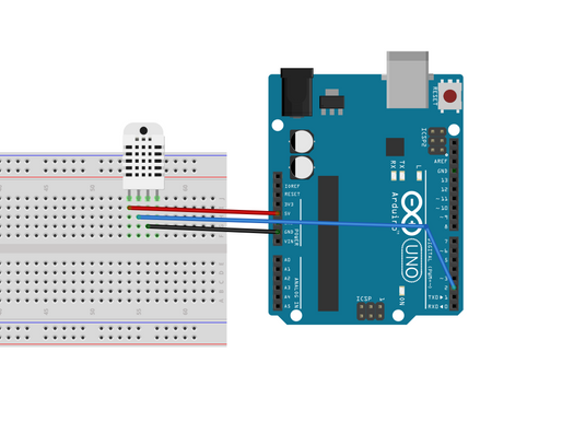 Measuring Temperature & Humidity using DHT11 Sensor and Arduino Uno