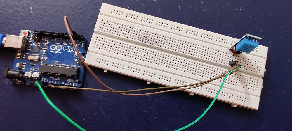 Circuit before uploading code