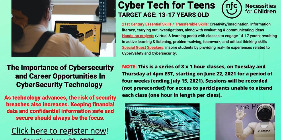 Cyber Tech for Teens: CyberSafety & CyberSecurity
