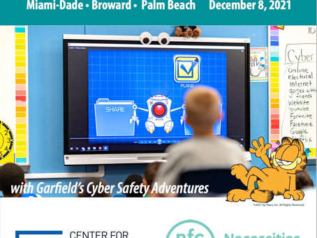 Cyber Safety Day in SE Florida will now be held on December 8, 2021