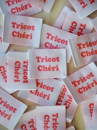 """Etiquette """"CHERI"""""""