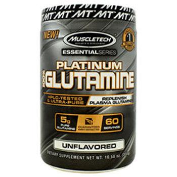 MUSCLETECH ESSENTIAL SERIES 100% PLATINUM GLUTAMINE