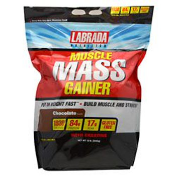 LABRADA NUTRITION MUSCLE MASS GAINER 12 lb (5443g)