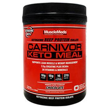 MUSCLE MEDS CARNIVOR KETO MEAL 14 Servings (23.57 oz.)