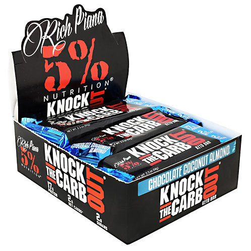 5% Nutrition Knock The Carb Out Keto Bar