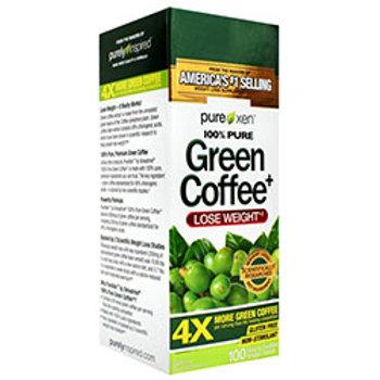 MUSCLETECH PUREXEN 100% PURE GREEN COFFEE+
