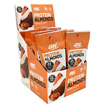 OPTIMUM NUTRITION PROTEIN ALMONDS 12 (1.5oz.) Packets