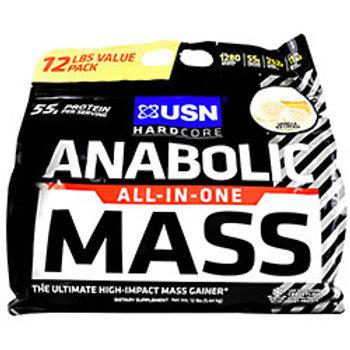 USN HARDCORE ANABOLIC MASS 12 LB. (5.44kg)