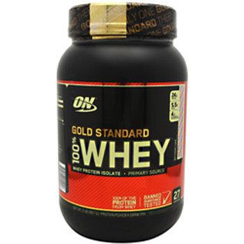 OPTIMUM NUTRITION GOLD STANDARD 100% WHEY 2lbs!