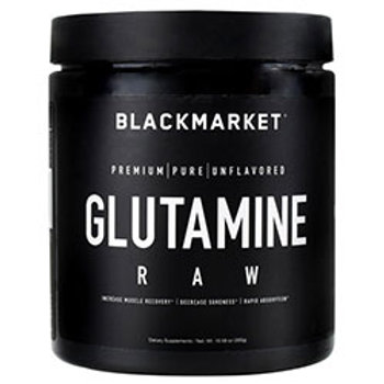 BLACK MARKET LABS RAW SERIES GLUTAMINE