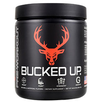 Bucked Up Pre-Workout 30 Servings (10.54 oz)!