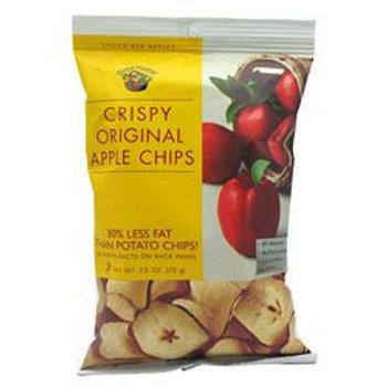 GOOD HEALTH NATURAL FOODS APPLE CHIPS 12- 2.5 oz (70g)