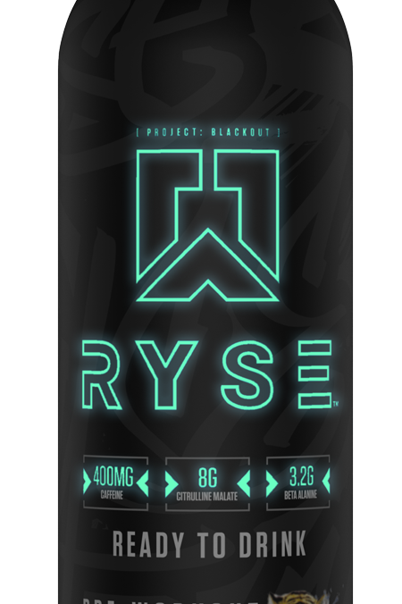 RYSE SUPPLEMENTS BLACKOUT PRE-WORKOUT RTD