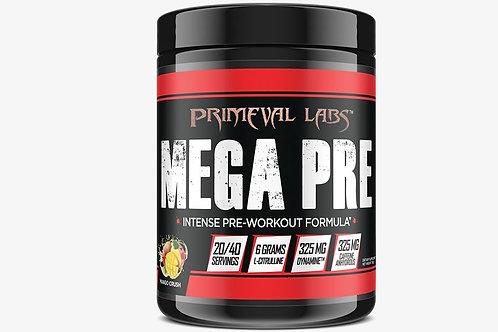 Primeval Labs Mega Pre Black - 40 Servings