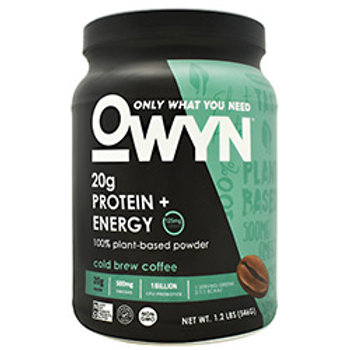 ONLY WHAT YOU NEED ENERGY PLANT PROTEIN