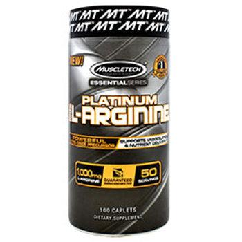 MUSCLETECH ESSENTIAL SERIES PLATINUM 100% L-ARGININE 100 Caplets