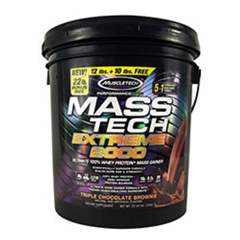 MUSCLETECH MASS-TECH EXTREME 2000 22.00 lbs (9.98kg)