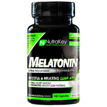 Nutrakey Melatonin (100 Caps)