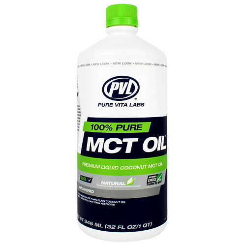 Pure Vita Labs 100% Pure MCT Oil