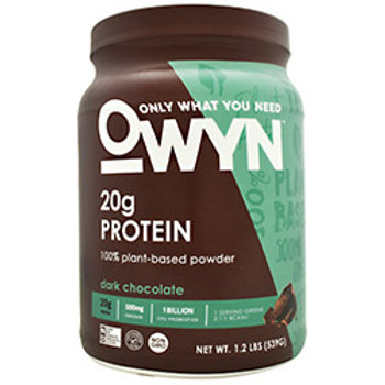 ONLY WHAT YOU NEED PLANT PROTEIN 1.2lb