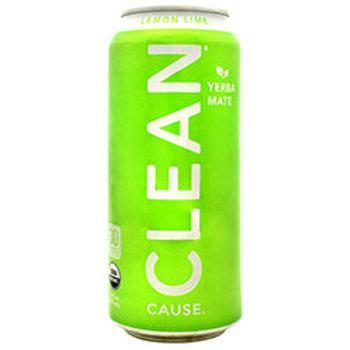 Clean Cause Sparkling Yerba Mate 12 (16 fl oz) Cans