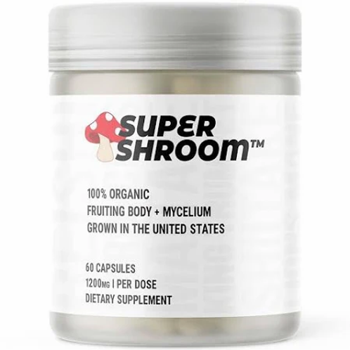 Glaxon Super Shroom 60 caps