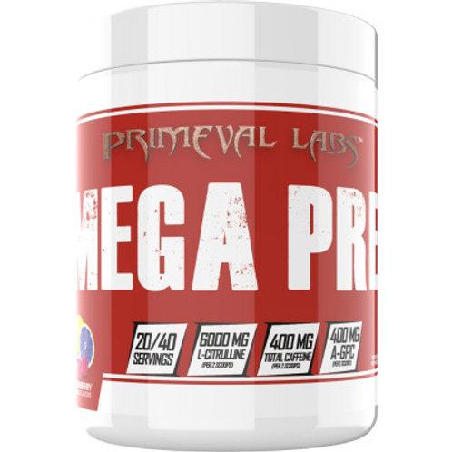 Primeval Labs Mega Pre Red - 40 Servings