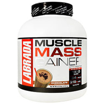 LABRADA NUTRITION MUSCLE MASS GAINER 96 oz (6 lbs) / (2722 g)