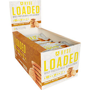 RYSE SUPPLEMENTS LOADED PROTEIN BAR 12 (60g) Bars