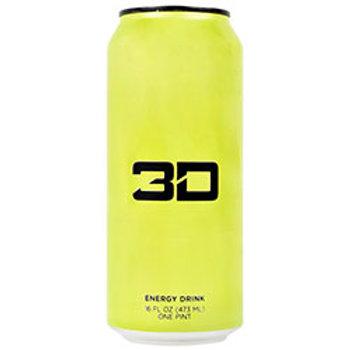 3D ENERGY 3D ENERGY DRINK 12 (16 FL OZ) Cans!